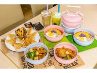台中工業風餐廳!「粉紅咖哩便當」白飯免費吃到飽