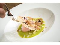 水波蛋加上頂級白松露價格三級跳 一道料理要價2500元