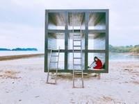 跳島放空吧!日本文青拍照秘境 黑白裝置藝術殺光手機記憶體