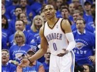 NBA/衛斯布魯克膝蓋動刀 5年全勤紀錄中斷