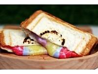 北市4色彩虹熱壓吐司!超會牽絲0色素 還有正宗日式叉燒