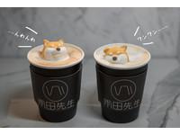 少女心噴發!台北飲品吧 超萌「柴犬」在奶茶上漂浮