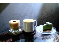 宜蘭京都復古風咖啡廳 限量手作抹茶巧克力凍生乳酪