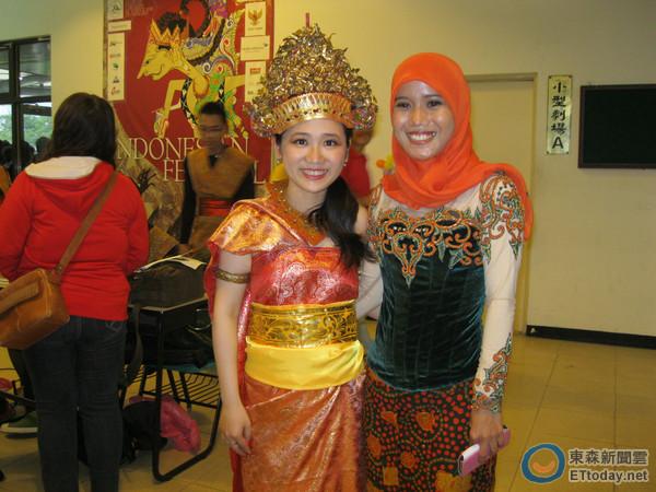屏科大印尼节透过异国和舞蹈路线v异国深度情广州乘车美食街美食图片