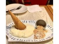 霜淇淋融了還能吃?東區美式餐廳嚐得到「融化的麻糬」