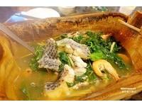 鍋裡真的有石頭的 「石頭火鍋」 花蓮原住民風味料理
