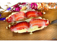IG人氣台南熱壓吐司 每日限定「草莓珍珠」新口味