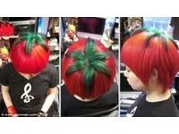 番茄會走路?日本瘋詭異「番茄髮型」