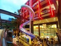 膽子不夠大別試!亞洲最高的16米戶外旋轉溜滑梯在台北