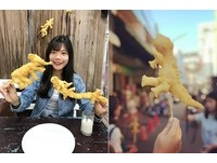 泰國百變造型炸油條 把逗趣可愛的恐龍、大象吃下肚