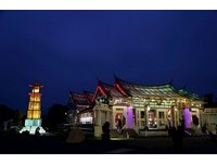 玻璃媽祖廟打造13.7公尺「通天柱」 參展2018台灣燈會