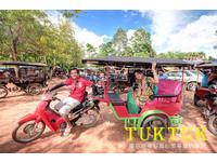 省去麻煩!搭乘「嘟嘟車」輕鬆遊柬埔寨吳哥窟