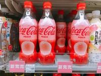 少女心噴發!世界第一款「蜜桃可樂」只有日本喝得到