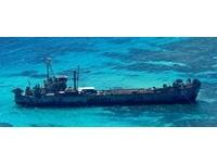 菲律賓派船到仁愛礁施工 被中國海警抓包驅離