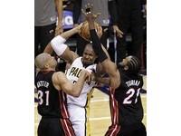 NBA季後賽/目標攻擊對手膝蓋 溜馬雙塔控巴提耶骯髒