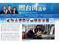 台灣總統大選 搜狐、騰訊專題報導