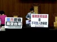 兩岸簽服貿協議 港議員:陸統戰台「經濟上層的人」