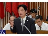 賴清德:狂犬病不會大流行,台南絕不擴大安樂死