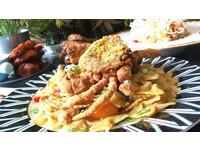 義大利麵有鹹蛋黃 「曜日」將台灣特色融入各式料理