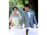 「世界小姐」張梓琳唯美婚禮曝光 低調嫁圈外男友