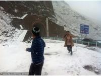 新疆八月飛雪!「火爐」城市網友:羨慕嫉妒恨呀