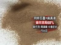 阿斯匹靈配麻黃湯 藥效增7成恐中毒