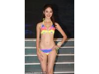 準港姐陳凱琳30吋貧乳擠出事業線 太美遭誣賴是外國人