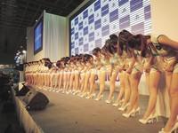 3天湧入15萬人 南港展館首度管制 明楊丞琳、名模壓陣