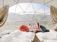 繁星陪你入眠!新北露營地推出「星空帳」 還能獨享秘境沙灘