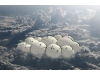 「浮雲飛船」啟動飄浮概念 在雲端旅遊猶如移動城堡