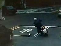 離奇!摔車倒地頭被輾 騎士起身理論5分鐘猝死