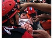 土耳其大地震 2週大女嬰祖孫3人奇蹟獲救