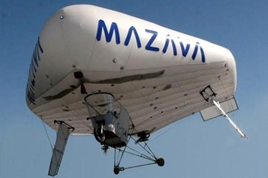 太阳能飞艇 超低耗能 胖嘟嘟充气机翼可飞六千公里