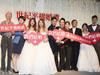 影/新婚快樂!第一場「平權婚禮」新人放閃恩愛 呼籲愛滋防疫重要