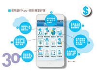 30雜誌/隨身理財爭取好康 理財App一指搞定