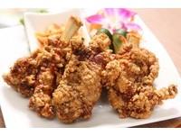 午餐食客/外皮酥脆、肉質多汁 蓬萊排骨酥吮指回味