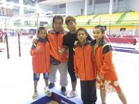 全運會/130公分跳成人等級 台東體操隊挑戰地心引力