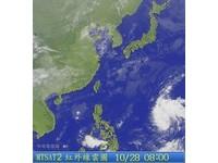 關島熱低壓今天恐成颱 侵台機率觀察中