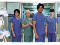 坂口憲二率《醫龍4》回歸失利 首集小輸《白色榮光4》