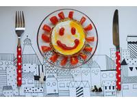 為食物添上笑顏 創意早餐開啟全新一天