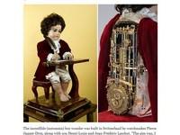 240年前瑞士「最古老機器人」曝光! 寫字彈琴樣樣行
