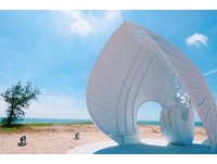 澎湖新地標!全台首座純白「貝殼教堂」 看得到無敵浪漫海景