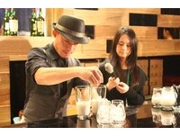 中式米漿融入西式威士忌 調酒口感超香醇