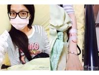 吳亞馨顧店忙出病 半夜急性蕁麻疹、氣喘急送醫