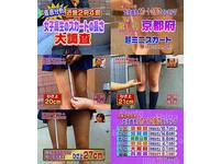 日本女高中生制服裙膝上25公分 短到只夠蓋住屁股