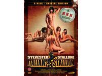 席維斯史特龍(Sylvester Stallone)的處女作改名後的海報。(圖/新浪娛樂)