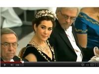 色逮!芬蘭總統丈夫 猛盯丹麥王妃「事業線」
