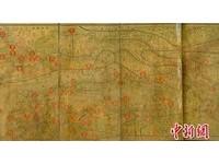 罕見日本製侵華掠寶圖現蹤 正面印地圖背面印名勝