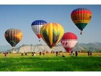 台南走馬瀨熱氣球升起 50公尺高空飽覽秀麗山色