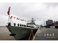 056型導彈護衛艦「吉安艦」 加入東海艦隊
